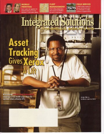 "Integrated Solutions: ""Asset Management Gives ... - I.D. Systems, Inc."