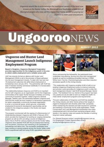 Issue 010 Aug 2012 - Ungooroo Aboriginal Corporation