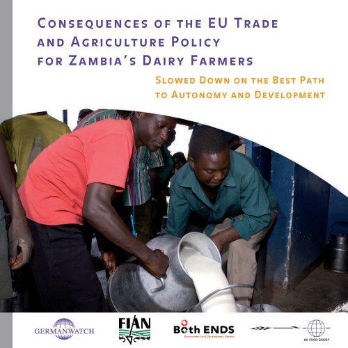 Consequences of the EU Trade and Agriculture ... - Germanwatch