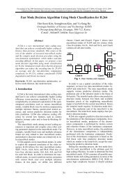 Fast Mode Decision Algorithm Using Mode Classification for - Visual ...