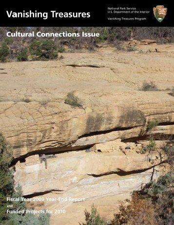 Vanishing Treasures - National Park Service