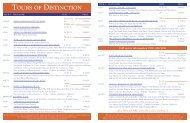 jan-nov:TOD winter spring 08.qxd.qxd - Tours of Distinction