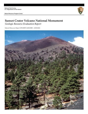 Sunset Crater National Monument Geologic Resources Evaluation ...