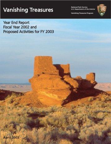 2002 report (pdf) - National Park Service