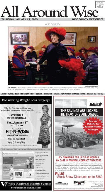 FIT-N-WISE - Wise County Messenger