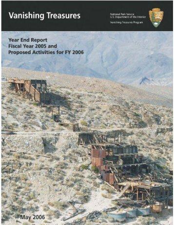 VT 2005 Report - National Park Service