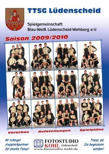 TTSG Lüdenscheid - TTSG Blau-Weiß Lüdenscheid/Wehberg