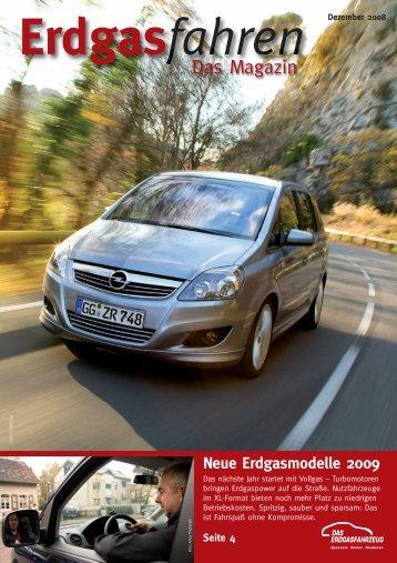 Das Magazin - Dezember 2008 (PDF, 1.6 - Erdgasfahrzeuge