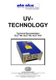 TECHNOLOGY Technical Documentation ELC - eta plus electronic ...