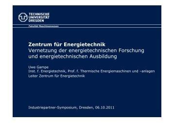 Das ZET - Fakultät Elektrotechnik und Informationstechnik