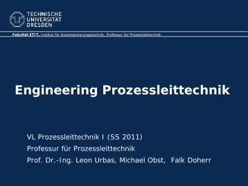 CAE in der Prozessautomatisierung - Fakultät Elektrotechnik und ...