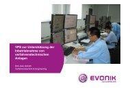VPS zur Unterstützung der Inbetriebnahme von ...