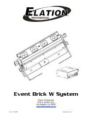 Event Brick W System - Elation Professional