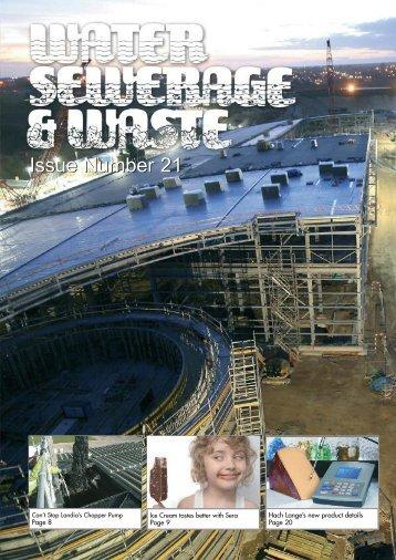 Sept 11 - Water, Sewerage & Waste