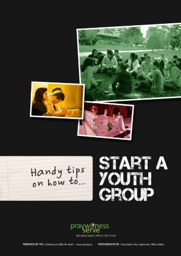 How to Start a Youth Group
