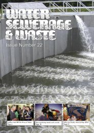 Issue Number 22 - Water, Sewerage & Waste