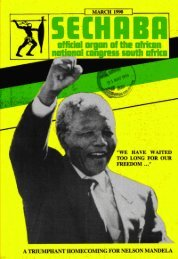 Sechaba Volume 24 Number 3 March 1990 - DISA