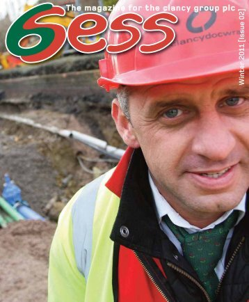 The magazine for the clancy group plc - Clancy Docwra