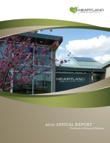 2010 ANNUAL REPORT - Heartland Consumers Power District