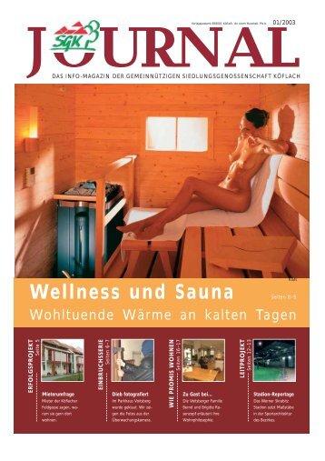 Wellness und Sauna - SGK