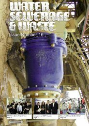 Issue Number 16 - Water, Sewerage & Waste