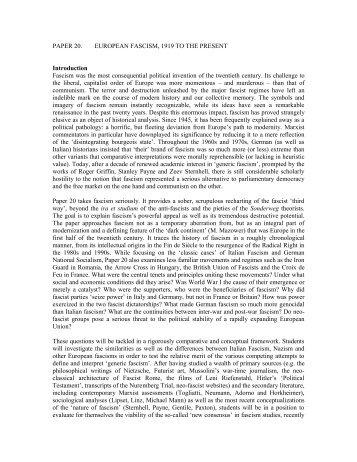 example of fascism essay the doctrine of fascism topics revolvy com