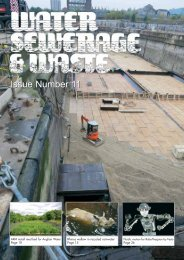 Issue Number 11 - Water, Sewerage & Waste