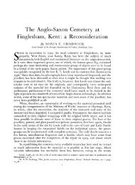The Anglo-Saxon Cemetery at Finglesham, Kent - Archaeology Data ...