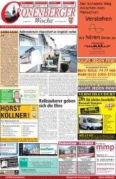 HORST KÖLLNER GmbH - Cronenberger Woche