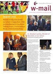 august 2011 - Waldorf School Windhoek