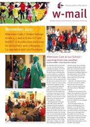 W-mail 11_2011 - Waldorf School Windhoek