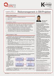 Risikomanagement in SW-Projekten.cdr - Software Quality Lab
