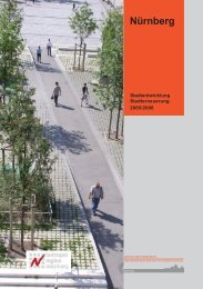 Bericht zur Stadtentwicklung und Stadterneuerung ... - Stadt Nürnberg
