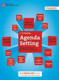 Download PDF - Tagung Agendasetting