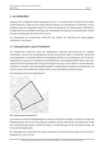 Begründung Teil 2 - Siefersheim