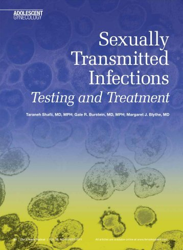Sexually Transmitted Infections - The Female Patient