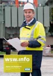 wsw.info Ausgabe 151 / Dezember 2012 - Wuppertaler Stadtwerke