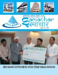 October Edition 2010 - Engineering Projects India Ltd.