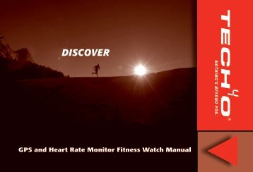 GPS And Heart Rate Monitor Fitness Watch Manual - Tech4o