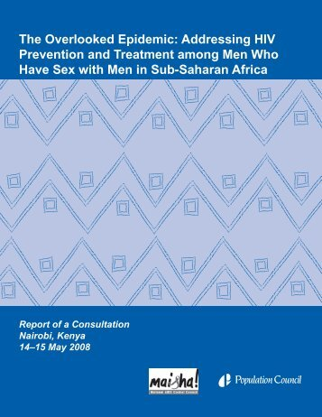 The Overlooked Epidemic: Addressing HIV Prevention - Population ...