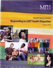 Responding to LGBT Health Disparities - the LGBT-Affirmative ...
