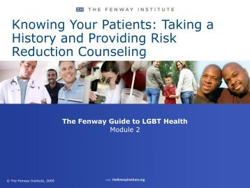 Knowing Your Patients - National LGBT Health Education Center