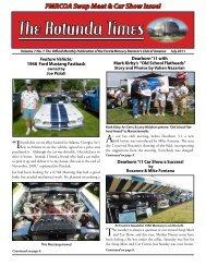 The Rotunda Times - Ford & Mercury Restorers Club of America