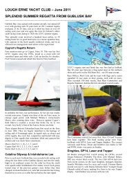 Regatta Newsletter - Lough Erne Yacht Club