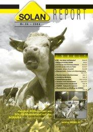 GVO - freie Lebens- und Futtermittel - Solan Kraftfutterwerk