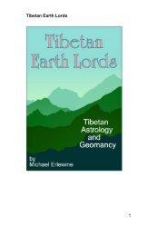 Tibetan Earth Lords 1 - Matrix Astrology Software