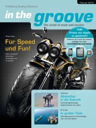 groove in the - Trelleborg Sealing Solutions