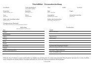 Täterfallblatt – Personenbeschreibung - SecureLINE