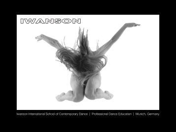 Iwanson International School of Contemporary Dance | Professional ...