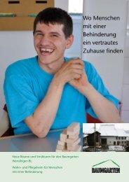 Wo Menschen mit einer Behinderung ein vertrautes Zuhause finden